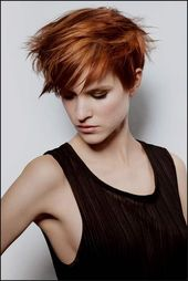 Trending Frisuren Kurzhaarfrisuren Damen Kupfer 10 Besten Kupfer … – #Kurzhaar…