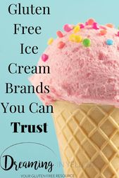 Trusted Gluten Free Ice Cream Brands