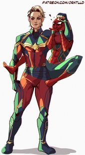 captain marvel on Tumblr – DC/ Marvel