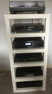 Build A Diy Hi Fi Rack Using Ikea Lack Tables Audio Appraisal Ikea Lack Table Ikea Lack Lack Table