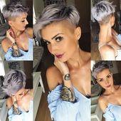 frischer Haarschnitt 💇♀️ #haar #frisur #haarschnitt #pixie #pixiecut