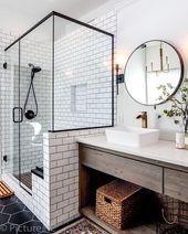 Wie Sie Ihr Badezimmer wie ein Spa aussehen lassen – Jessica Elizabeth #aussehen… – INTERIOR