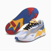 PUMA x Sonic Rs-x³ Color Trainers in White/Golden Rod size 4.5