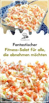 Fantastischer Fitness-Salat für alle, die abnehmen möchten Mögt ihr die Salat