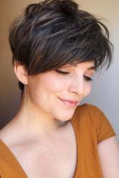 Braunes Haar ist auch super schön! Entdecken Sie hier 10 wunderschöne Beispiele! – Frisuren für sie