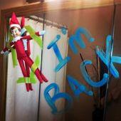10 Creative elf on the shelf return ideas