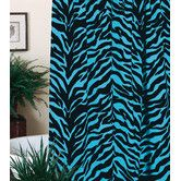 Zebra Single Shower Curtain – Bedding/Curtains/Rugs