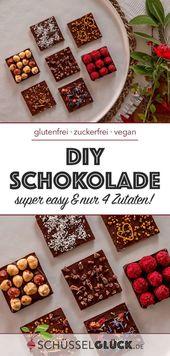 Make healthy chocolate yourself