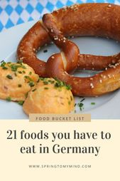 21 conventional meals to eat in Germany