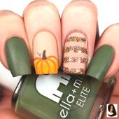 #autumn Nails #Designs #FALL #Ideen #Nail #und 48 Must Try Fall Nail Designs And …