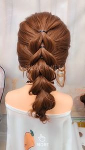 In Hot Summer This Hairstyle Suits You Very Well Konfi Frisuren Flechtfrisuren Flechten Lange Haare