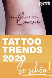 Tattoo-Trends 2020: So schön sind die neuen Tattoo-Motive