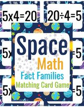 Math Facts Flash Cards Memory Game – Free Printable!