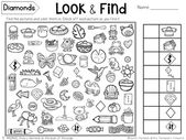 Look & Find Hidden Picture Puzzles – Shapes