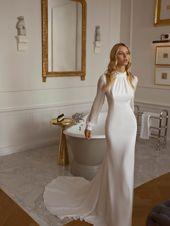 bröllopsklänning enkel # brudklänning Brud Brudklänning Bröllopsklänning Brud Bröllopsklänning …