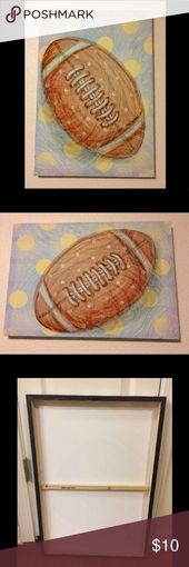 Fußball Leinwand Wandkunst, Hobby Lobby Fußball Wandkunst auf Leinwand, von Hobby Lo … – My Posh Picks