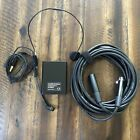 Audio Technica At8531 Microphone Power Module With Cable And Atm73a Headset Proaudio Audio Technica Headset Microphone
