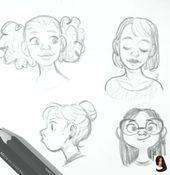 #Doodles #Doodles #Drawing hairstyles #Loling #sketch #ske -, #Doodles #Doodles …