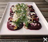 Ensalada de remolacha con queso de oveja y aderezo balsámico   – Food inspiration