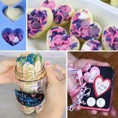 Valentinstag-Geschenke selber machen: 5 DIY-Geschenke  COSMOPOLITAN