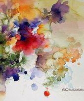 Wild rose von annemiek groenhout – Blumenaquarelle/watercolors of flowers