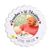 Grandma's 1st Christmas Picture Frame Ornament – Products you tagged