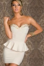 deb8903e2f Cheap White Fashion Wrapped Chest Mini Dress online - All Products