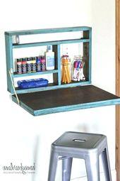 An Wänden angebrachte Tische Inspirational Geben Sie das Bild ein Beschreibung Here Desk attache …