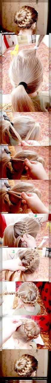 Hairstyles DIY and tutorial for all hair lengths 054  