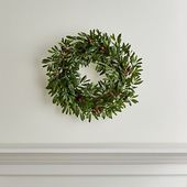 Olive Wreath + Reviews | Crate and Barrel