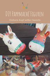 Kids Build - Super Rainbowtastic Paper Mâché Unicorn : 7 Steps ... | 254x169