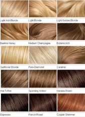 ▷ Which hair color suits me – tips, ideas and lots of pictures to compare  #color #compare #ideas #pictures #suits