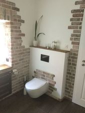 Simple upgrade of the house with brick documents – #Backsteinbelegen #des #einf …