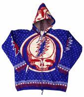 Hooded Sweatshirt Grateful Dead Hoodie Steal Your Face Hooded Sweatshirt