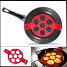 Pancake Mold Ring – Makes the perfect pancakes, eggs, hash browns, & brownies in…   – Non