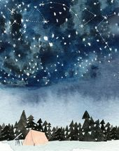 Stargazer Archival Print von Lindsay Gardner