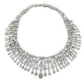 Magnificent Drape Important Diamond Necklace…107…