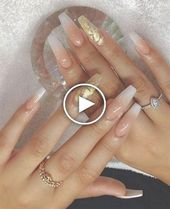 70 attractive acrylic sarong nails to try this fall # Bea …