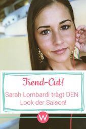 Sarah Lombardi Die Haare Sind Ab Sarah Lombardi Frisuren Abschiedsgeschenk Fur Erzieherin