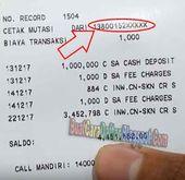 Pin Di Cara Mengetahui Nomor Rekening Mandiri Berapa Digit