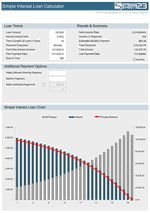 Pin On Mortgage Interest Schedule Calculator