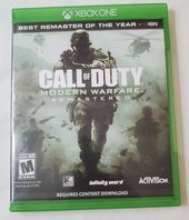 Call of Duty Modern Warfare Remastered X  – Products