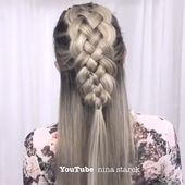 how to plait hair
