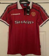 Manchester United 1999 Treble Winners Shirt Beckham 7 New With Tags Umbro Winner Shirts Manchester United Shirts