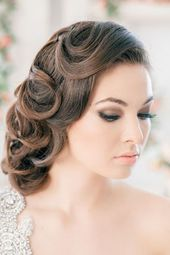 A Vintage-Inspired Wedding - Bridal Hairstyles - #Bridal #one #hairstyles #wedding #Vintage Inspired