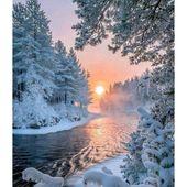 Diamond painting – winter wonderland