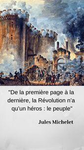 Jules Michelet, la Révolution et le peuple