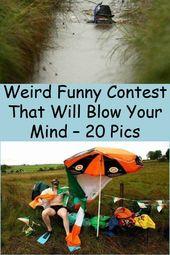 Aklınızı Uçuracak Tuhaf Komik Yarışma – 20 Fotoğraf