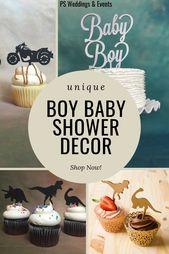 #Baby #Jungen #Kuchen #Cupcake #Ideen #Dusche    – babyshower