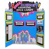 Rock Candy Crystals Science Fair Poster